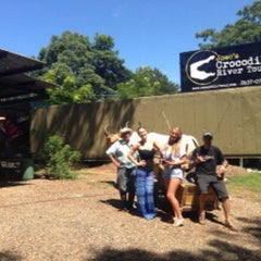 Photo taken at Jose's Crocodile River Tour by Croocodile T. on 10/17/2015