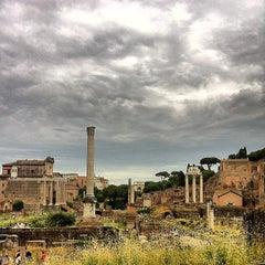 Photo taken at Foro Romano by Mauricio C. on 5/28/2013