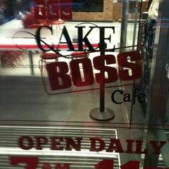Photo taken at TLC Cake Boss Cafe by Z B. on 6/21/2013