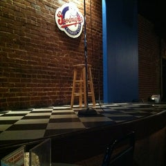 Photo taken at Goodnight's Comedy Club & Restaurant by Christy S. on 10/28/2012