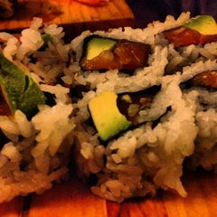 Photo taken at Asahi Sushi by Cookdrinkfeast on 2/9/2013