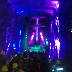 Photo taken at Catedral de Sal de Zipaquirá by Jose Francisco P. on 3/24/2013