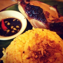 Photo taken at Bacolod Chicken Inasal by hazel beth g. on 3/7/2013