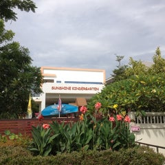 Photo taken at Sunshine International Kindergarten by Mr. T on 8/17/2012