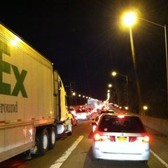 Photo taken at Brooklyn/Queens Expressway (BQE) by Big Bad W. on 10/17/2012