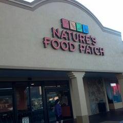 Photo taken at Nature's Food Patch Market & Cafè by Senaf D. on 11/24/2012