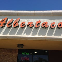 Photo taken at Albertacos by Y on 4/17/2013