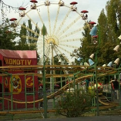 Photo taken at Vidámpark by Dora on 10/7/2012