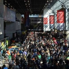 Photo taken at New York Comic Con by Maia W. on 10/12/2013