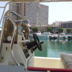 Photo taken at The Yacht Club نادي اليخوت by Jokasso on 6/17/2013