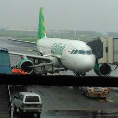 Photo taken at Gate 7 by Rihya W. on 1/21/2014