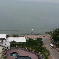 Photo taken at Sigma Resort Jomtien Pattaya by NooPing K. on 2/24/2013