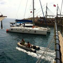 Photo taken at Pirates of Alanya by Zeynep Ünal (. on 9/21/2012