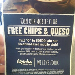 Photo taken at Qdoba Mexican Grill by Jessica W. on 7/31/2013