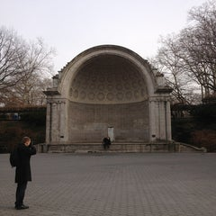 Photo taken at Naumburg Bandshell by Dylan D. on 12/24/2012