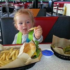 Photo taken at Burgerville, USA by Anka on 10/12/2014