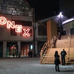 Photo taken at Ciudad Cultural Konex by Paulette on 6/25/2013