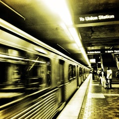 Photo taken at Civic Center Metro Station by Michele on 5/23/2013