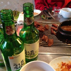 Photo taken at 미갈매기살 by Byungsoo Jung on 5/1/2013