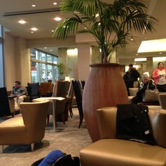 Photo taken at Delta Sky Club by Bobby A. on 3/6/2013