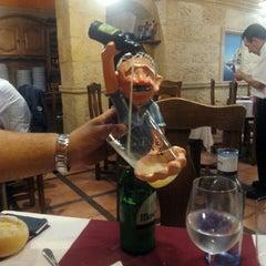 Photo taken at Candasu Sidrería Restaurante & Llagar by Kilombe C. on 9/9/2015