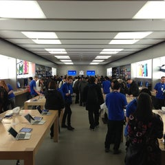 Photo taken at Apple Store, Pacific Centre by Anton B. on 2/18/2013