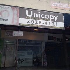 Photo taken at Unicopy Encadernadora by Paulo F. on 9/12/2014