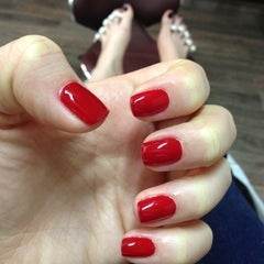 Photo taken at Express Nails by Zlata on 2/20/2013