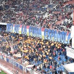 Photo taken at Estadio Vicente Calderón by Pat B. on 3/10/2013