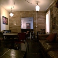Photo taken at Bedlam Coffee by Bill T. on 4/25/2014