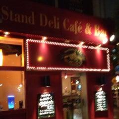 Photo taken at Stand Deli Cafe & Bar Bon Bonne by Leon Tsunehiro Yu-Tsu T. on 6/24/2013