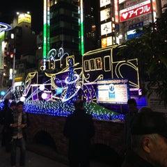 Photo taken at 新橋駅前 SL広場 by Leon Tsunehiro Yu-Tsu T. on 11/22/2012