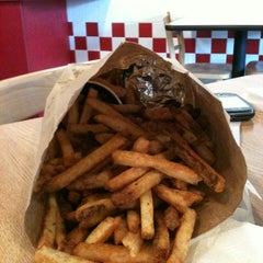 Photo taken at Five Guys by Ben T. on 11/5/2012