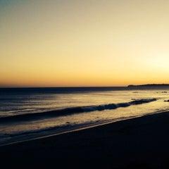 Photo taken at Malibu Public Beach by Larry on 10/9/2013