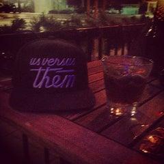 Photo taken at Bluefoot Bar & Lounge by Walker on 12/12/2012