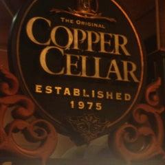 Photo taken at The Original Copper Cellar by Austin on 1/21/2013