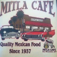 Photo taken at Mitla Cafe by London H. on 3/3/2013