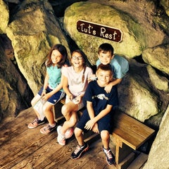 Photo taken at Polar Caves Park by Amy on 8/11/2014
