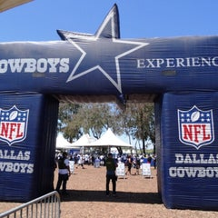 Photo taken at Dallas Cowboys Training Camp by Jose F. on 8/9/2015