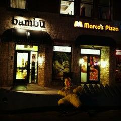 Photo taken at Bambu Salon by chicken l. on 10/31/2012