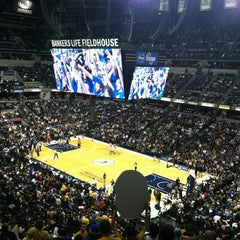 Photo taken at Bankers Life Fieldhouse by chicken l. on 1/9/2013