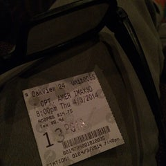Photo taken at AMC Oakview Plaza 24 by Tyler R. on 4/4/2014
