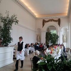Photo taken at Orangery at Kensington Palace by Alessandro V. on 6/22/2013