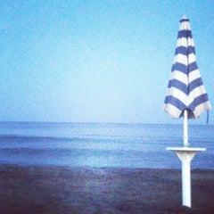 Photo taken at Spiaggia del Gabbiano by Andrea C. on 8/17/2013