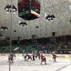 Photo taken at Thompson Arena at Dartmouth by Haily on 3/10/2013
