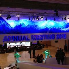 Photo taken at World Economic Forum (WEF) by Patrick G. on 1/26/2013