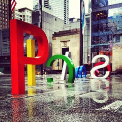 Photo taken at Daley Plaza by David B. on 4/18/2013