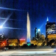 Photo taken at Clarence Buckingham Memorial Fountain by David B. on 7/18/2013