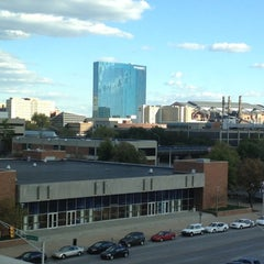 Photo taken at Indiana University-Purdue University Indianapolis by Caitlin on 9/23/2012