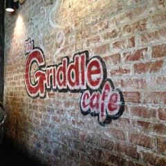 Photo taken at The Griddle Cafe by Danny H. on 3/19/2013